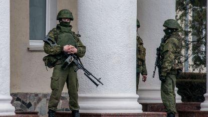 Hekwerk van 60 kilometer tussen de Krim en Oekraïne opgetrokken