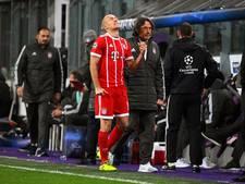 Heynckes: Geloof niet dat blessure Robben ernstig is