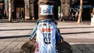"""Belofterenner Lotto Soudal komt belofte na en komt aan in Parijs: """"Bjorg, je hebt net jouw Ronde van Frankrijk gereden"""""""