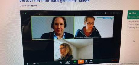 Raden Oldenzaal, Losser en Dinkelland vergaderen voor het eerst digitaal: interrumperen kan niet