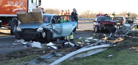 Roemeense trucker (60) vrijgelaten na dodelijk ongeluk A50 bij Nistelrode, zwaargewonden uit Radboudumc