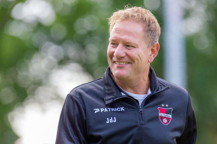 Trainer van De Treffers, Jan de Jonge.