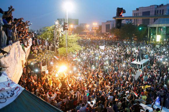 Al maanden zijn er demonstraties tegen het bewind van al-Bashir.