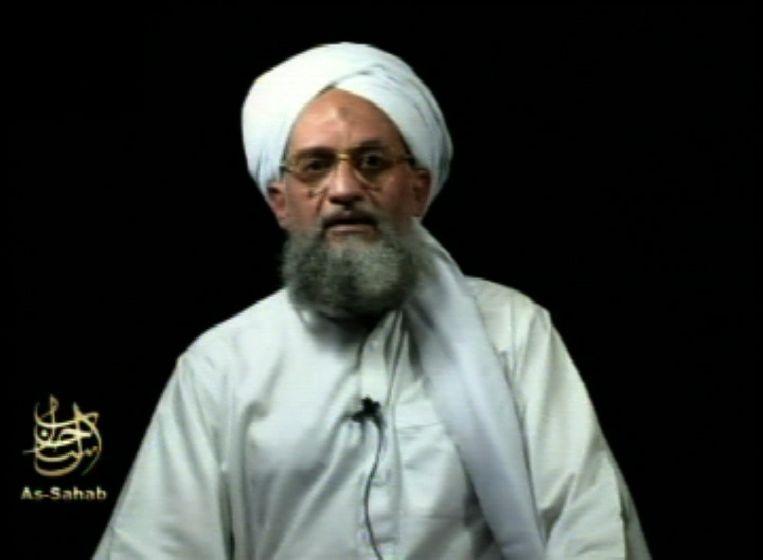 'Het is geen toeval dat de leider van Al-Qaida, Ayman al-Zawahiri (foto), zijn militante loopbaan begon bij de Egyptische Moslimbroederschap.' Beeld ap