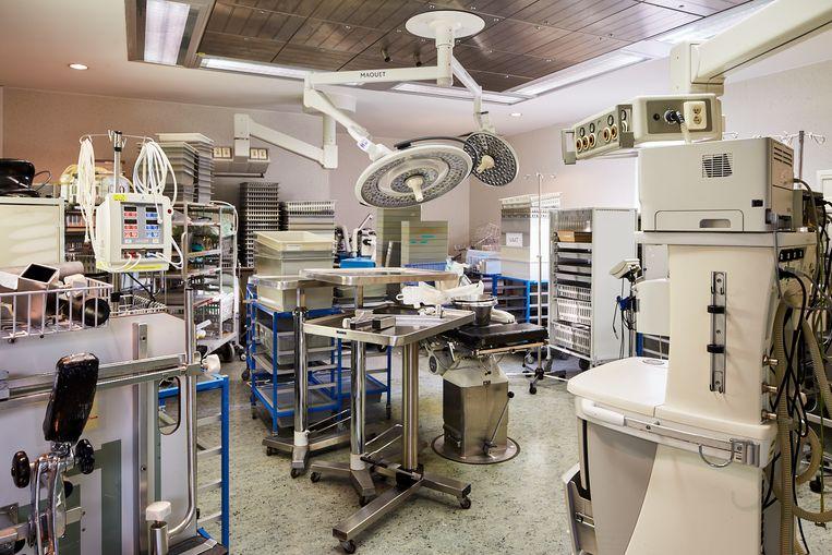 Vijftien operatiezalen van het vroegere Sint-Maarten in Mechelen zullen worden afgebroken en elders weer worden opgebouwd.