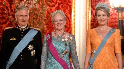 """Deense koningin Margrethe krijgt tonnen respect: """"Aftreden? Ik rol liever dood van de troon"""""""