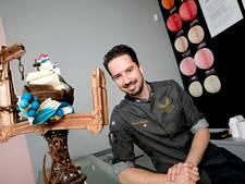 Tomas Knoops uit Eindhoven maakt creatieve chocolade creaties voor RTL4