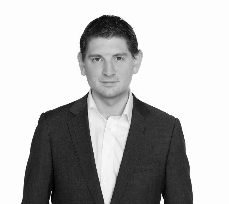 Jan Paternotte, sinds 2017 lid van de Tweede Kamer voor D66. Ook is hij woordvoerder Wetenschap voor de partij. Beeld