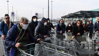 Hoewel coronavirus zich voorlopig tot noorden van Italië beperkt, geldt dat niet voor de paniek