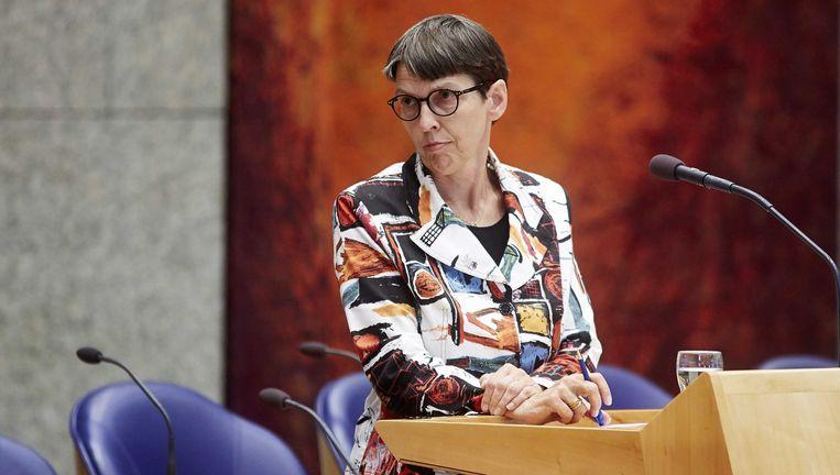 Staatssecretaris van Sociale Zaken en Werkgelegenheid Jetta Klijnsma. Beeld ANP