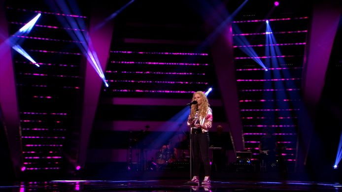 Sezina Steurs in The Voice of Holland
