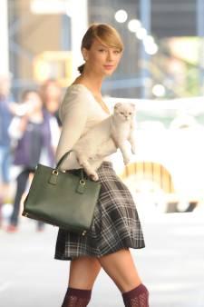 Taylor Swift geeft katten hoofdrol in nieuwe merchandiselijn