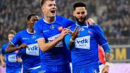 Herrezen AA Gent stuurt Standard wandelen en blijft na twee goals in vier minuten meestrijden voor play-off 1