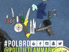 Man in Breda houdt zich opnieuw bezig met wapens: recidivist aangehouden