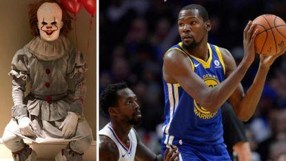 Golden State Warriors haalt uit - LeBron James laat ploegmakkers schrikken voor Halloween