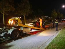 Man ramde politiewagen in Oss: 23-jarige verslaafde stond stijf van de cocaïne en moet zich laten behandelen