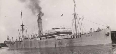 Hoe een gebombardeerd Zweeds oorlogsschip een Urkse viskotter fataal werd