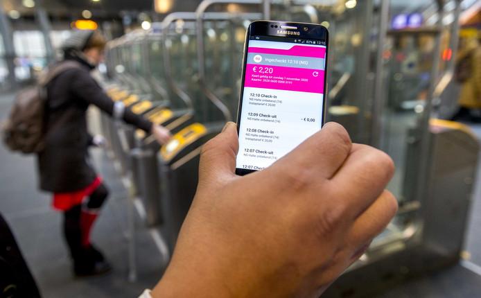 De proef om in te checken bij de NS met je mobiel faalde jammerlijk