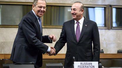 """Turkije en Rusland beloven terreur in Syrië """"uit te roeien"""""""