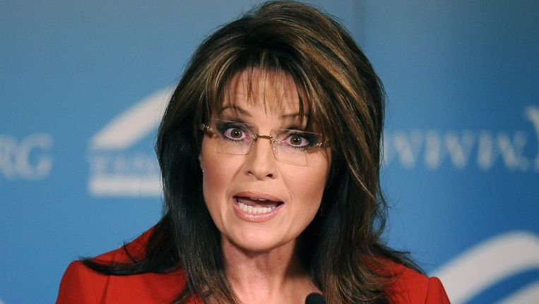Sarah Palin. Beeld AFP
