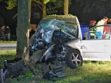Automobilist overlijdt na frontale botsing in Diessen