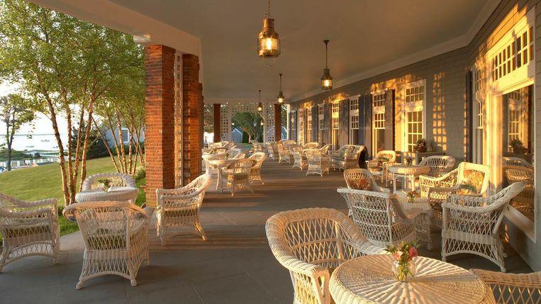 Hotel: Chatham Bars Inn, Cape Cod.'Service is een commodity, daar moet je voor betalen. Dat realiseerde ik me daar weer.' Beeld .