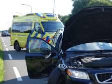 Hoogzwangere vrouw naar ziekenhuis na botsing met kerende auto in De Krim