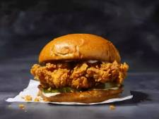 Amerikaanse snackfans rollen over elkaar om beste broodje gefrituurde kip