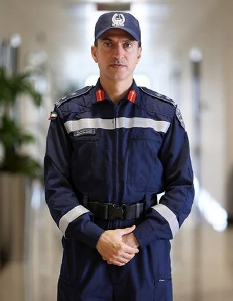 Luitenant-kolonel Ahmed Burqibah.
