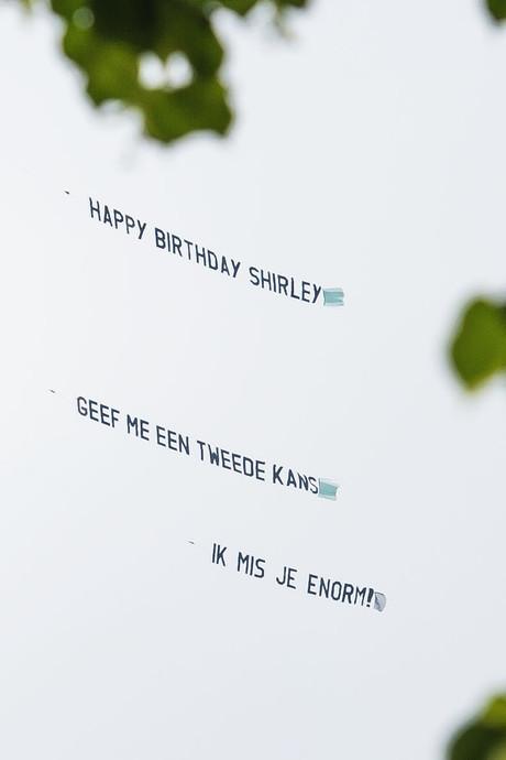 Peperdure liefdesbrief krijgt happy end: 'Shirley wil terug bij anonieme aanbidder'