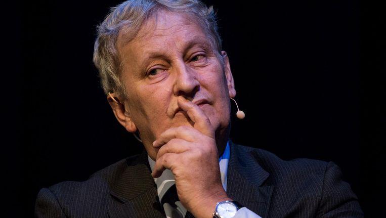 Burgemeester Eberhard van der Laan brak een lans voor Koningsdag en Gay Pride. Els Iping: 'Dat was even slikken. Beeld Maarten Brante