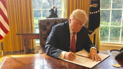 Dit zijn de werkuren van de president: Trump begint laat aan zijn dag en gaat vroeg naar bed
