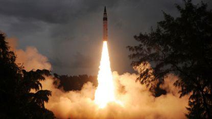 """India voert """"succesvolle"""" test uit met intercontinentale ballistische raket"""
