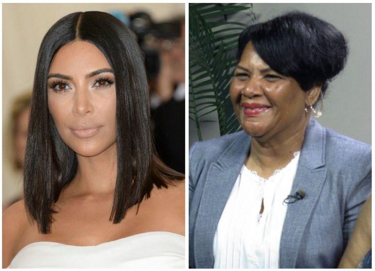 Kim Kardashian en Alice Marie Johnson.