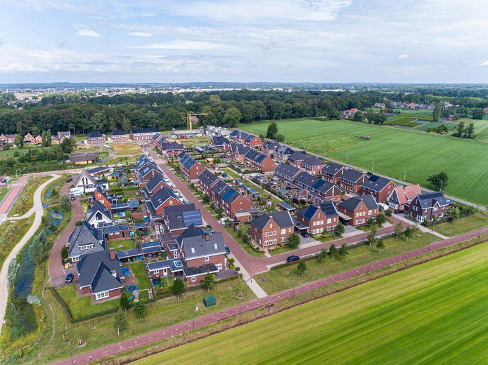De wijk Het Opbroek aan de oostkant van Rijssen groeit niet snel genoeg om er op korte termijn een basisschool te stichten.