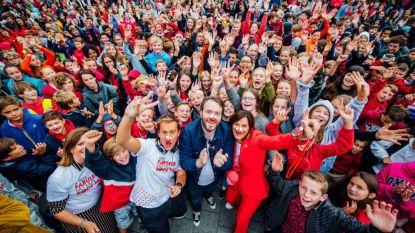 Hoe Rood kleurt Vlaanderen al voor Rode Neuzen Dag? Bekijk het Rode Neuzen Dag scholenrapport van uw stad of gemeente
