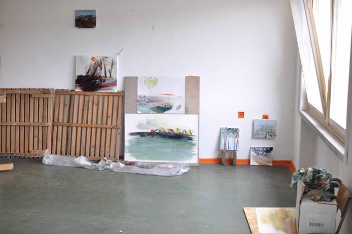 Atelier van Jeroen Vrijsen in Tripkau