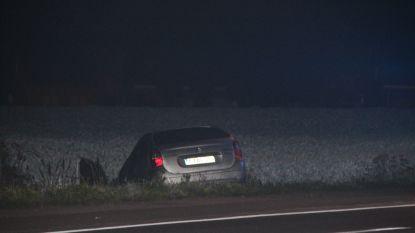 Vier gewonden bij ongeval na achtervolging door politie in Lendelede