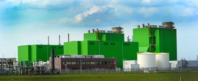 De Sloecentrale in Vlissingen-Oost.