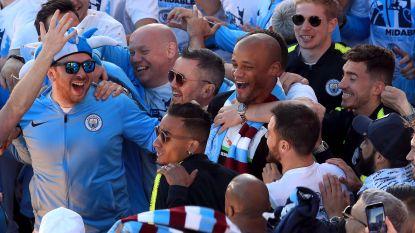 Manchester knuffelt Kompany nog één laatste keer