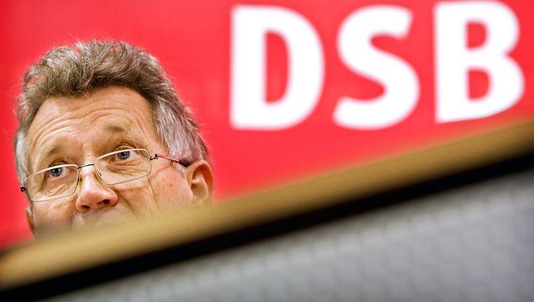 Dirk Scheringa van de DSB Bank. Foto ANP Beeld