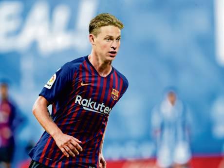 Frenkie de Jong over Messi: 'Dat wordt heel speciaal'