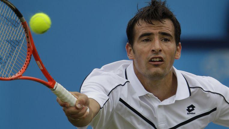 De Kroatische tennisser Ivan Dodig. Beeld ap