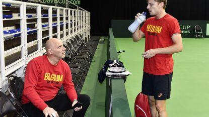 """Goffin klaar voor Davis Cup-duel met Hongarije: """"Extra gemotiveerd in 'mijn' Luik"""""""