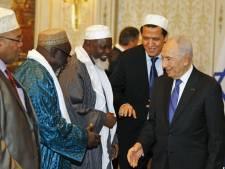 Shimon Peres rencontre les imams de France à Paris