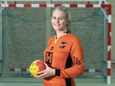Handbalkeepster Avanti Wilskracht wil dit seizoen veel te doen hebben