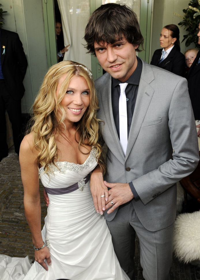 Simon en Annemarie in 2012