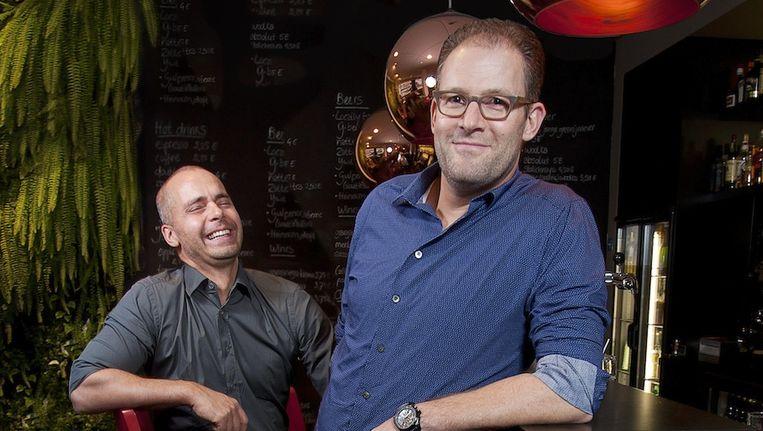 Marco Lemmers (links) en Sam Cohen. Beeld Eigen foto