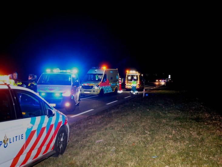 Langenbergseweg bij Gilze geheel afgesloten voor verkeer door 'medisch incident'