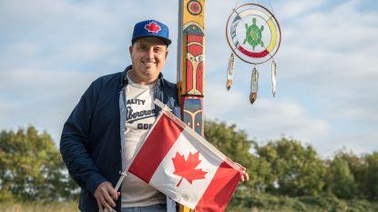 Hij is geboren en getogen in Nederland, maar Mike is een échte indiaan